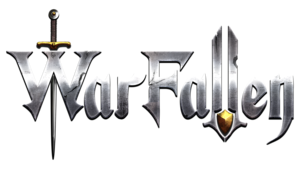 Warfallen logo metal 4096r