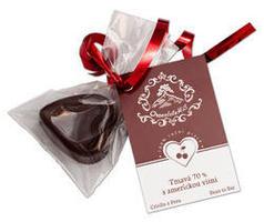Cokoladove srdce chocolatehill s americkou visni