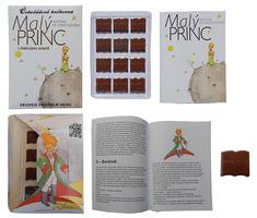 Cokoladova knihovna 60g   maly princ
