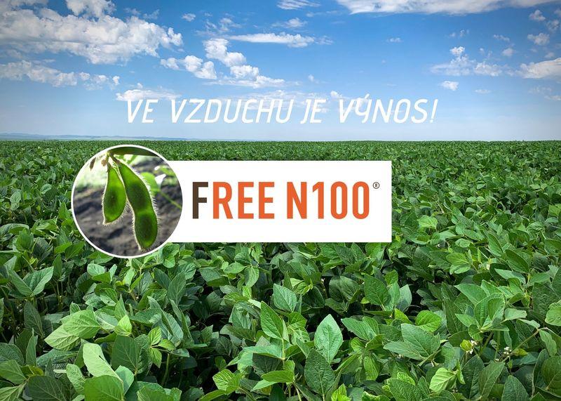 Ve vzduchu je výnos! FREE N100® výživa dusíkem