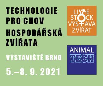 Můžete nás potkat na brněnském veletrhu ANIMAL TECH 2021