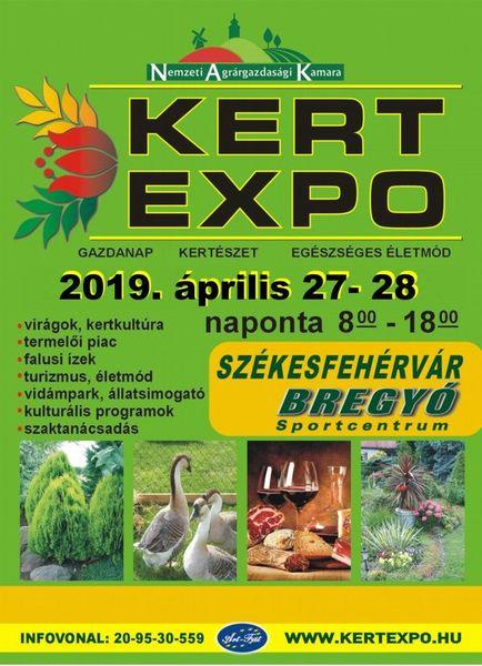 2019. Április 27-28. KERT-EXPO Székesfehérváron!