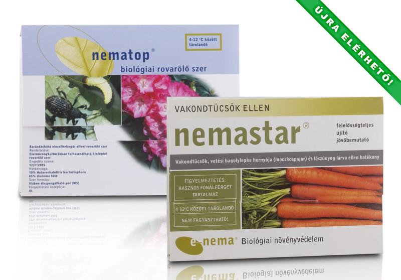 A Nemastar, Nematop, Dianem újra elérhetőek! - Biológiai megoldások a talajlakó kártevők ellen!