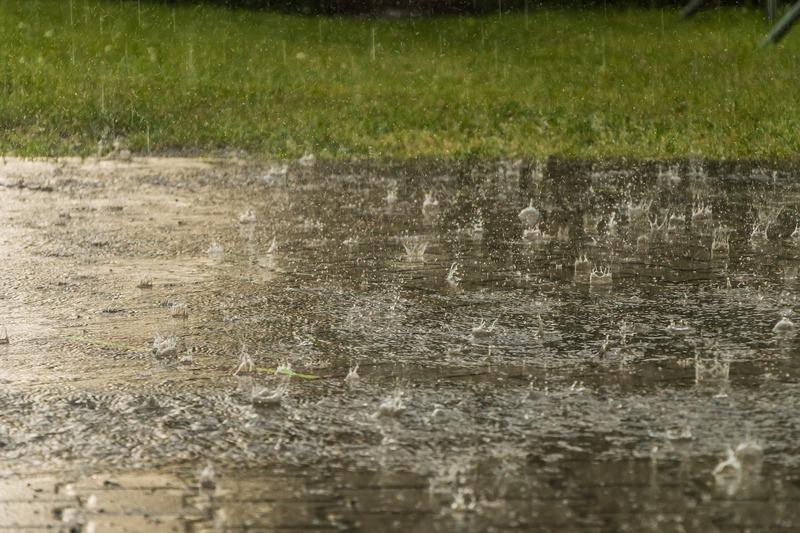 Daždivé počasie a slnečné dni