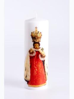Svíce tištěná velká - královská