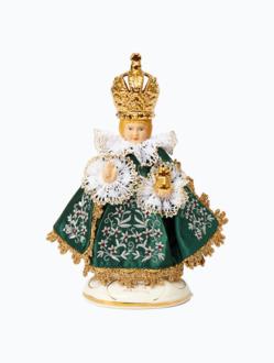 Infant Jesus of Prague Ceramic Clothed – mini 19cm/7.48in