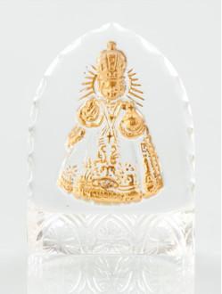 Křišťálový stojánek gotický – mini-transparentní