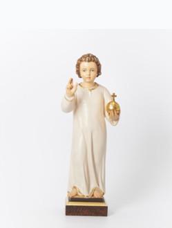 Pražské Jezulátko dřevěné 35cm/13.78in – tmavé vlasy