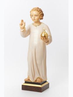 Pražské Jezulátko dřevěné 52cm/20.47in – světlé vlasy