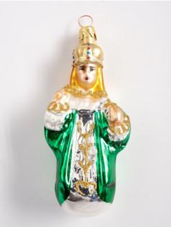 Vánoční ozdoba Pražské Jezulátko – zelená