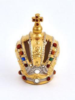 Koruna keramická na Pražské Jezulátko dřevěné 23cm/9.06in