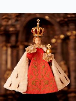 Fotografie Pražského Jezulátka - královské