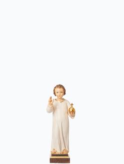 Infant Jesus of Prague Wooden Statue 23cm / 9.06in – Dark