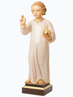 Pražské Jezulátko dřevěné 52cm / 20.47in – světlé