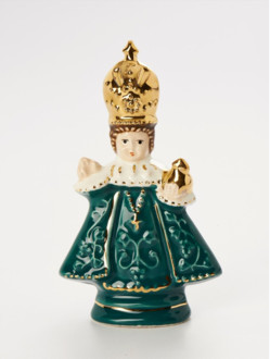 Infant Jesus of Prague Ceramic – Mini 8cm/3.15in