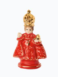 Infant Jesus of Prague Ceramic – Piccolo 6cm/2.36in