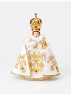 Pražské Jezulátko Porcelánové Oblečené – Malé 17cm/6.69in
