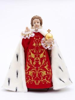 Pražské Jezulátko pryskyřicové oblečené – Kopie 48cm/18.89in - královské