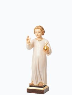 Pražské Jezulátko dřevěné 42cm / 16.5in – světlé