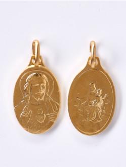 Škapulíř - medailka pozlacená
