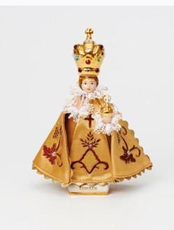 Pražské Jezulátko Porcelánové Oblečené – Mini 14cm/5.51in