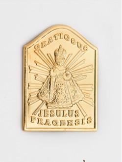 Magnetic Infant Jesus Tag - Gold