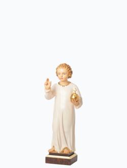 Pražské Jezulátko dřevěné 35cm / 13.78in – světlé