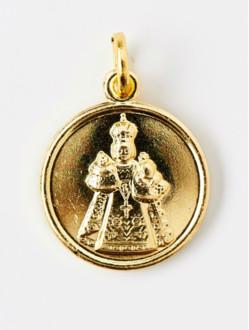 Medailka Kovová - Pražské Jezulátko - Žlutá