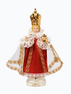 Pražské Jezulátko keramické oblečené – střední 37cm / 14.56in - královské
