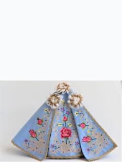 Šaty 35cm / 13.78in (na Pražské Jezulátko porcelánové – 57cm / 22.44in) – Růže
