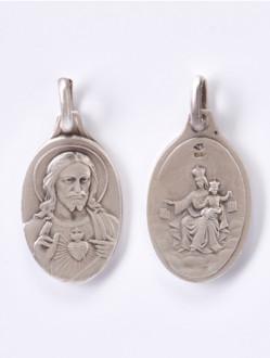Škapulíř - medailka stříbrná