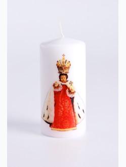 Svíce tištěná - střední - královská 1