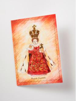 Přání Pražské Jezulátko malované – královské