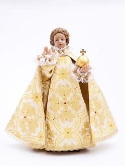 Pražské Jezulátko pryskyřicové oblečené – Kopie 48cm/18.89in - zlaté