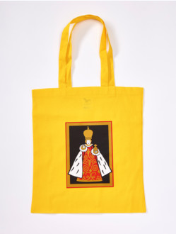 Cotton Bag with Infant Jesus - Yellow&Black