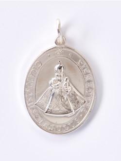 Medailka Stříbrná - Pražské Jezulátko - Oválná