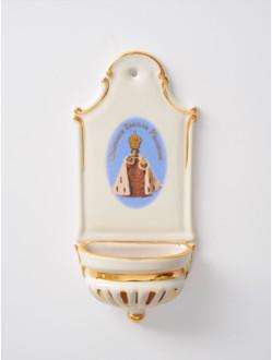 Kropenka porcelánová s Pražským Jezulátkem - malá - královská