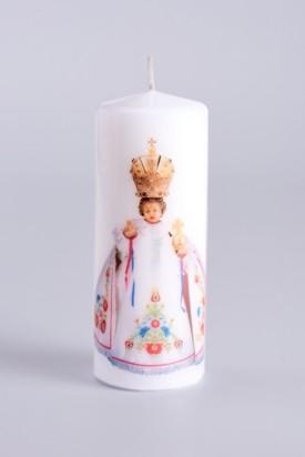 Svíce tištěná - střední - krojová