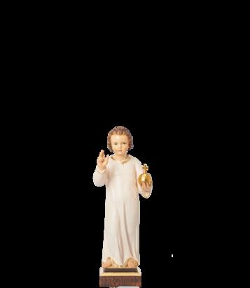 Pražské Jezulátko dřevěné 23cm / 9.06in – tmavé