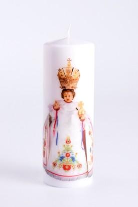 Svíce tištěná velká - krojová