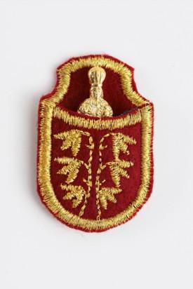 Pražské Jezulátko v pouzdře - pozlacené-červené