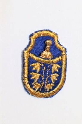 Pražské Jezulátko v pouzdře - pozlacené-modré