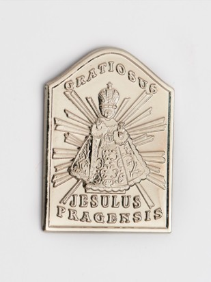 Magnet Jezulátka - stříbrný