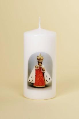 Svíce tištěná - střední - královská 2