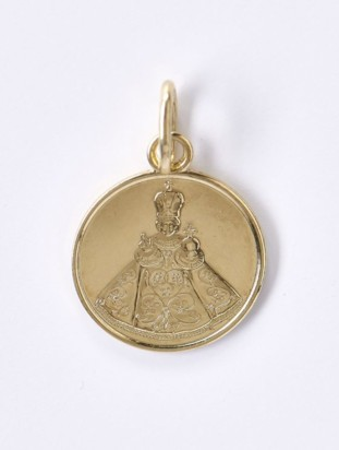 Medailka Zlatá – Pražské Jezulátko