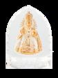 Křišťálový stojánek gotický - mini-bílý