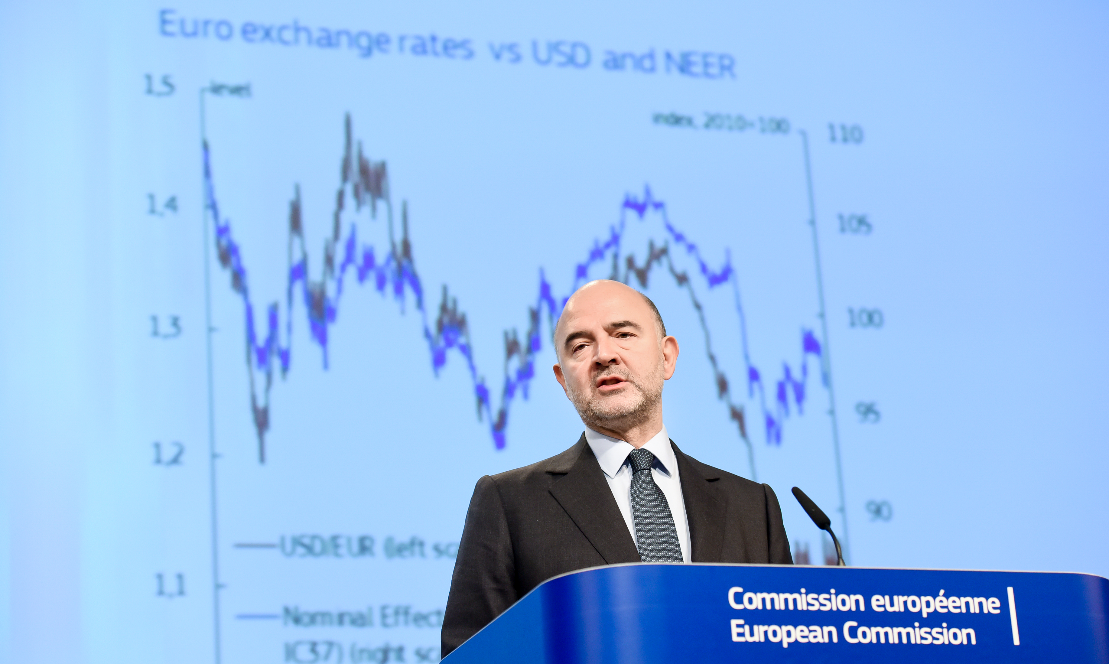 Moscovici said EU counties should continue to reform economies (Photo