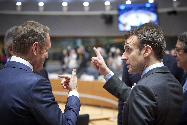 Macron Relaunches His Bid For Eu Leadership