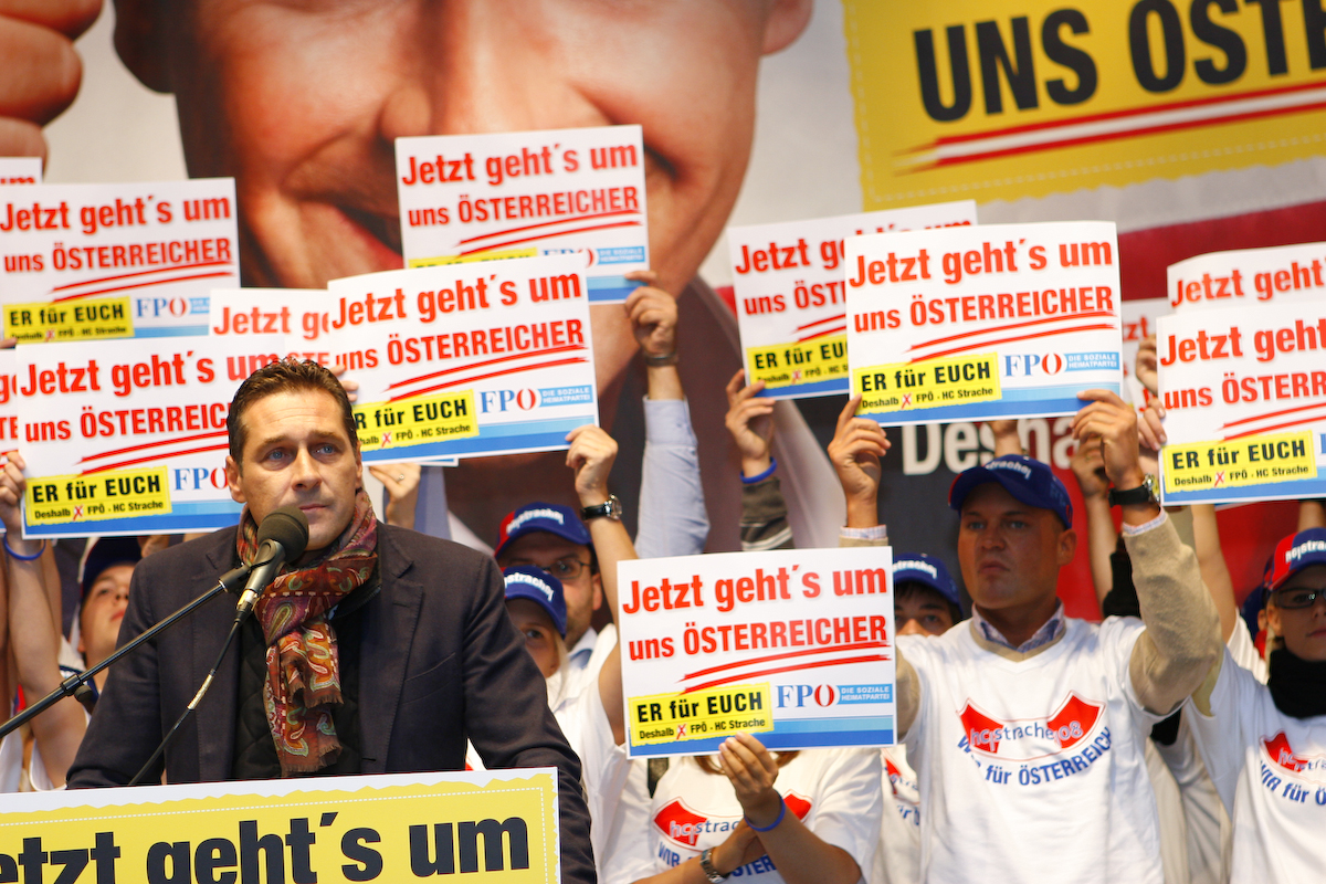 Austrian far right to control foreign, interior ministries -spokesman
