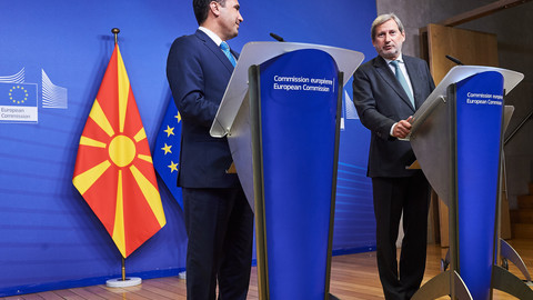 EU fails to deliver on Albania and North Macedonia